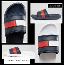 Tommy Hilfiger Casual Style Shower Shoes Flat Sandals