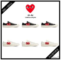 COMME des GARCONS Heart Casual Style Collaboration Low-Top Sneakers