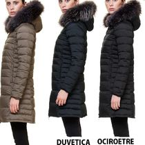 DUVETICA ociroetre Plain Long Down Jackets