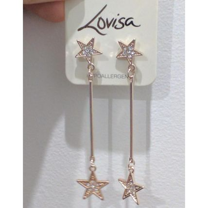 Star Party Style Earrings & Piercings