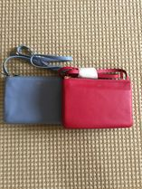 CELINE Trio Bag Smooth Lambskin Small Trio Shoulder Bag (Fuchsia/Lavendar)