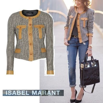 Isabel Marant stylish tweed jacket SALE
