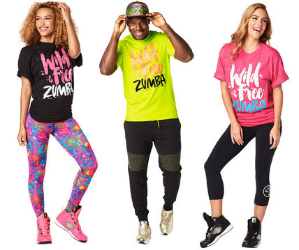 Unisex dumbbell Wild About Tee