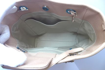 CHANEL Totes Casual Style Leather Totes 12