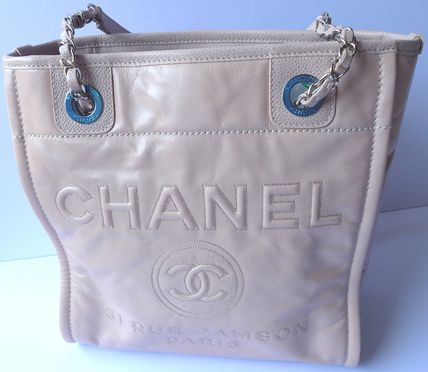 CHANEL Totes Casual Style Leather Totes 4