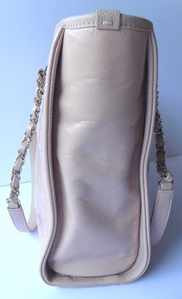 CHANEL Totes Casual Style Leather Totes 8