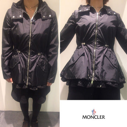 ... MONCLER Trench Short Plain Trench Coats ...