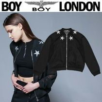 BOY LONDON Skull Star Street Style Medium MA-1 Bomber Jackets