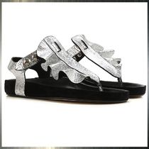 Isabel Marant Casual Style Leather Sandals Sandals