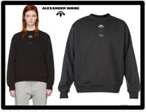 Alexander Wang Crew Neck Casual Style Unisex Collaboration Long Sleeves