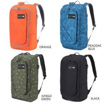 THE NORTH FACE Flower Patterns Star Faux Fur Street Style A4 2WAY Backpacks
