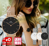 Daniel Wellington Quartz Watches Elegant Style Analog Watches