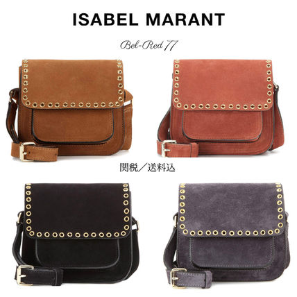 Isabel Marant suede cross-body BAG