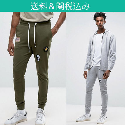 Only &Sons * badge fancy sweatpants /.