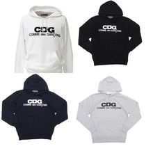COMME des GARCONS Pullovers Unisex Sweat Street Style Long Sleeves Hoodies