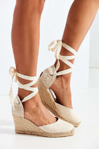SOLUDOS Open Toe Casual Style Suede Street Style Plain