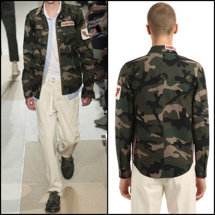RED VALENTINO | camouflage t-shirt Green
