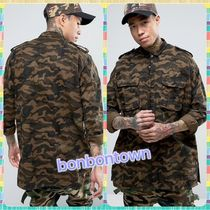 Sixth June Camouflage Street Style Long Sleeves Cotton Shirts