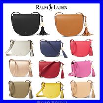 Ralph Lauren Casual Style Street Style Plain Leather Shoulder Bags