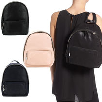 Stella McCartney FALABELLA Faux Fur 2WAY Plain Elegant Style Backpacks