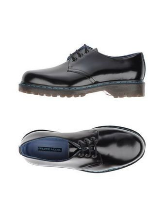 And PHILIPPE MODEL black dress shoes