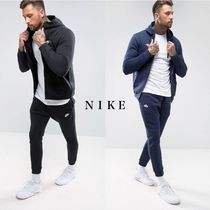 Nike Street Style Plain Cotton Joggers & Sweatpants