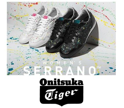 Onitsuka Tiger Dots Lace-up Casual Style Street Style Low-Top Sneakers