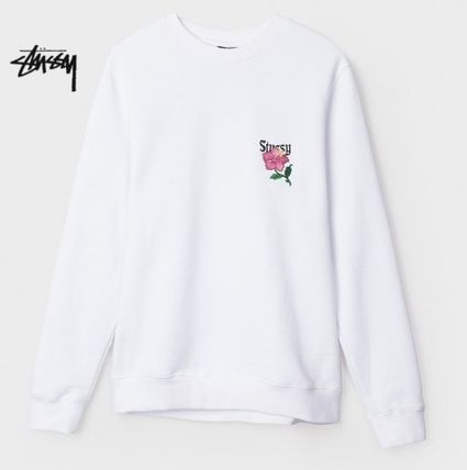 CF floral embroidery sweat W