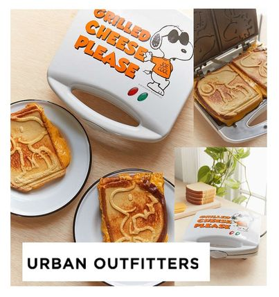Urban Outfitters Snoopy Grilled Cheese Maker