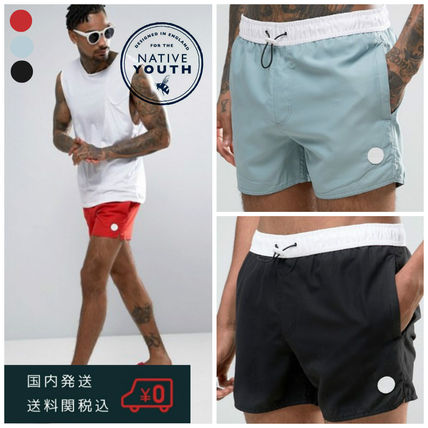 Native Youth Bicolor Swim Shorts