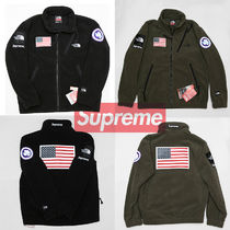 Supreme Street Style Collaboration Jackets
