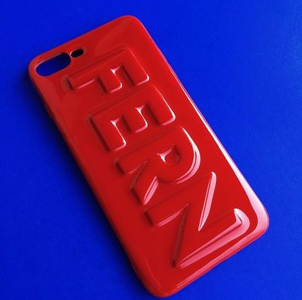 ALL RED Enter the name on the case phone case