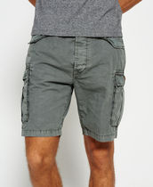 Superdry Street Style Plain Cotton Cargo Shorts