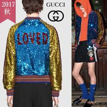 GUCCI Short Other Animal Patterns Souvenir Jackets
