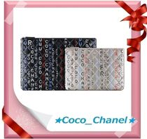CHANEL ICON Unisex Lambskin Clutches