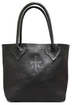 CHROME HEARTS CEMETERY CROSS Totes