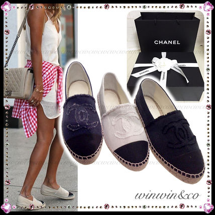 CHANEL Casual Style Flats