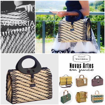 Nostalgic basket bag VICTORIA Trendy Dark PT