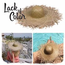 lack of color Street Style Straw Hats