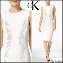 Calvin Klein Tight Sleeveless Medium Party Dresses