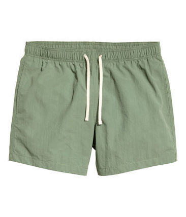 Short Long Sea Pan Khaki Green