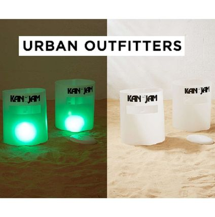 Urban Outfitters KanJam Illuminate Glow Ultimate Disc Game