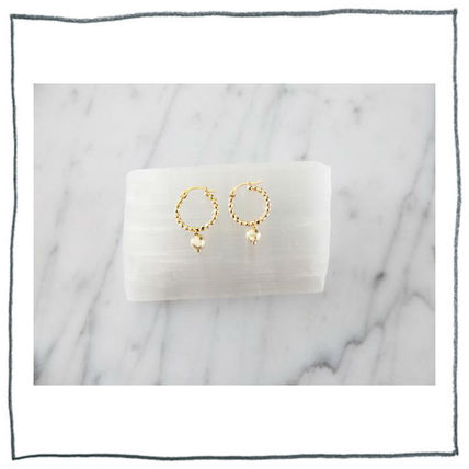 MARIDA Silver 14K Gold Elegant Style Earrings