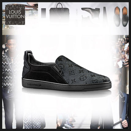 Louis Vuitton MONOGRAM Monoglam Leather Loafers & Slip-ons