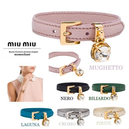 Casual Style Leather Bracelets