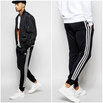 adidas SUPERSTAR Street Style Plain Joggers & Sweatpants