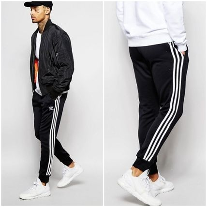 premium selection ff36c 75e50 adidas SUPERSTAR 2018 SS Street Style Plain Joggers & Sweatpants