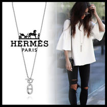 HERMES Casual Style Street Style Silver Necklaces & Pendants