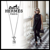 HERMES Kelly Casual Style Street Style Silver Necklaces & Pendants
