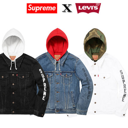 12 weeks 17 Supreme X LEVIS trucker jacket